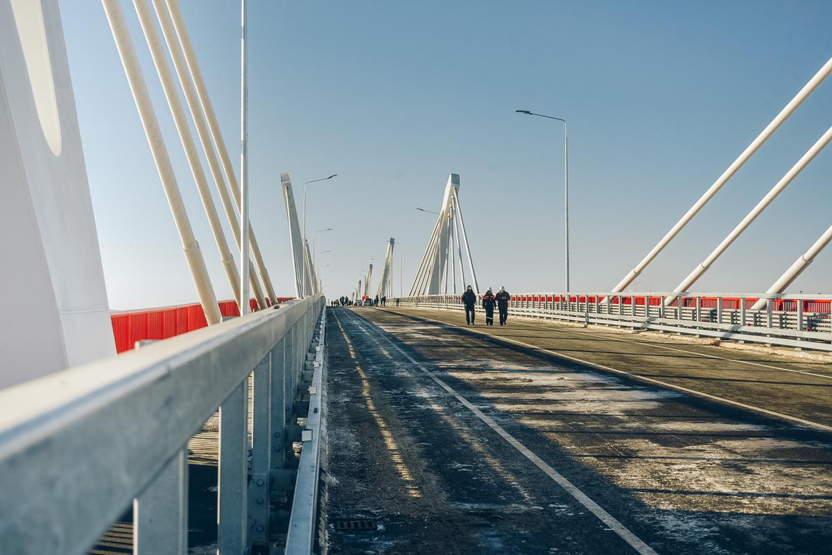 Завершено строительство российской части моста «Благовещенск-Хэйхэ»