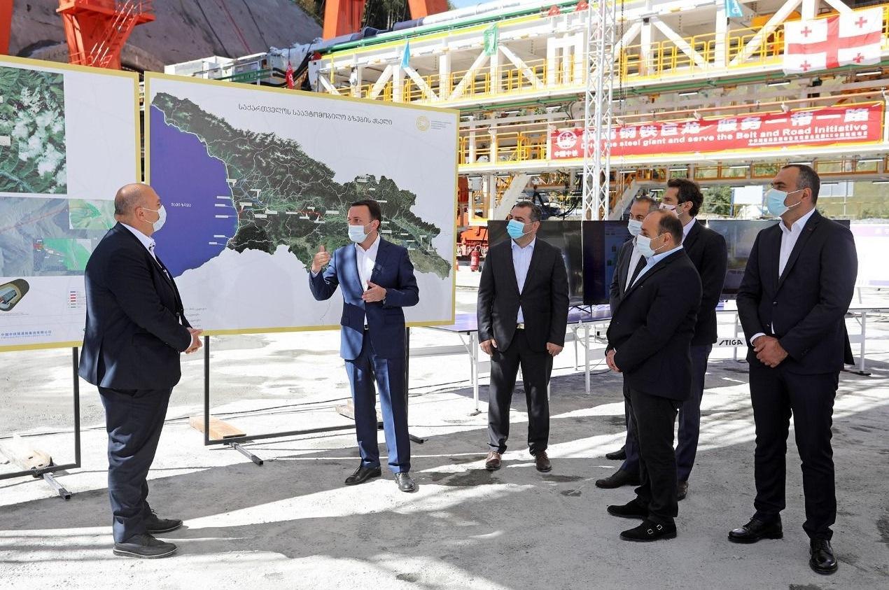 В Грузии началось строительство тоннеля на дороге к границе с РФ
