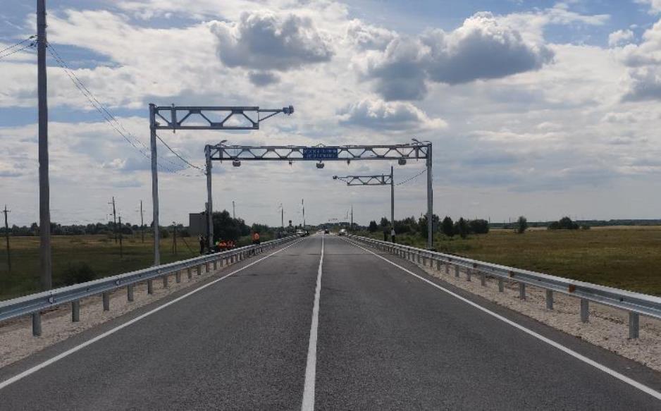 В Рязанской области построили новый пункт весогабаритного контроля