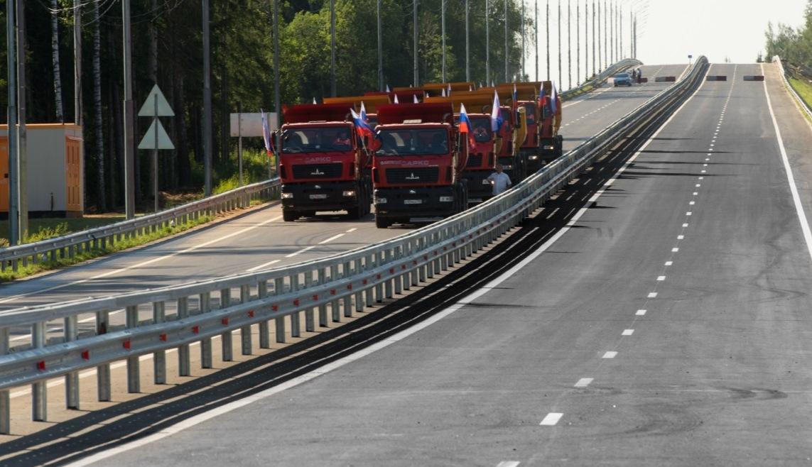 Открыт участок ЦКАД-5 от Можайского до Новорижского шоссе