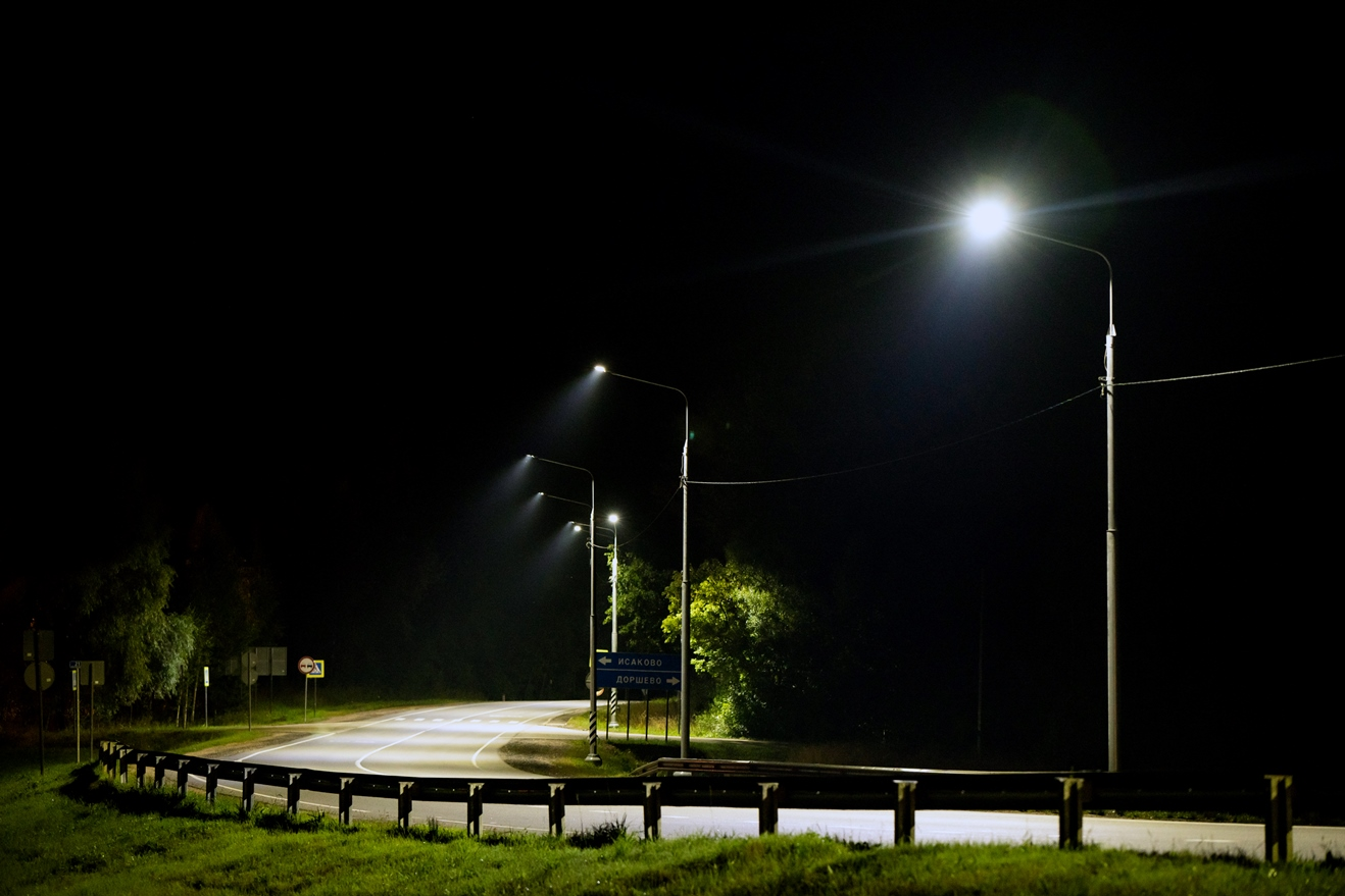 В центральных регионах осветят еще 20 км федеральных трасс