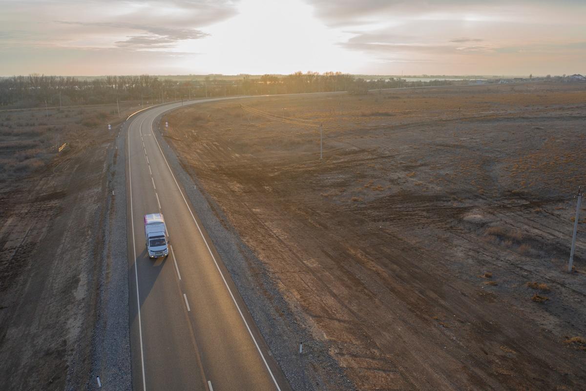 В Астраханской области отремонтируют 45 км федеральных трасс