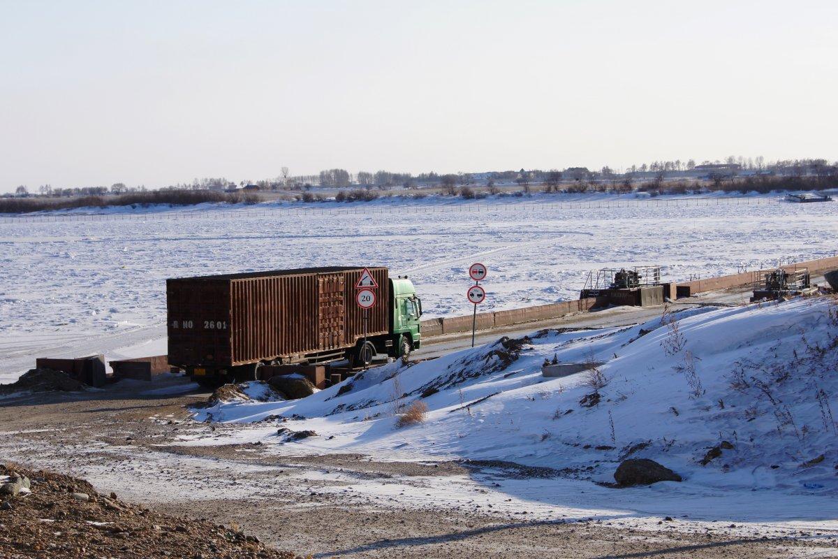 В Амурской области открылась международная переправа «Поярково-Сюнькэ»