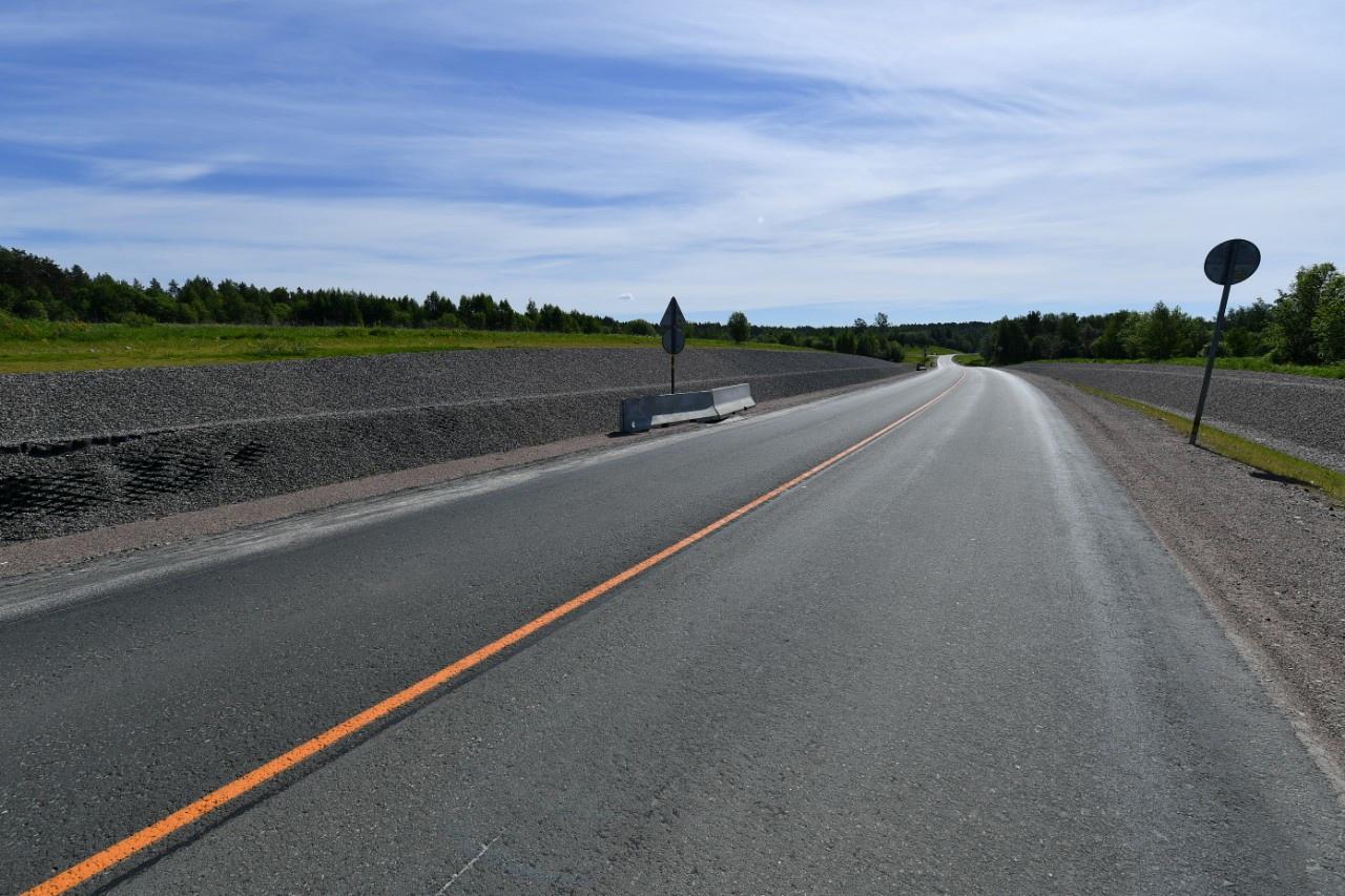 В Карелии долю нормативных региональных дорог доведут до 40%