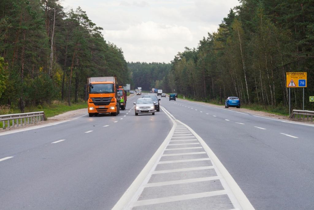 В Калужской области на двух трассах снизят допустимую скорость
