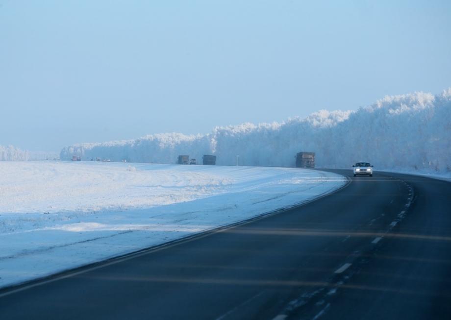 Дорогу от Барнаула до границы с Казахстаном отремонтируют до конца года