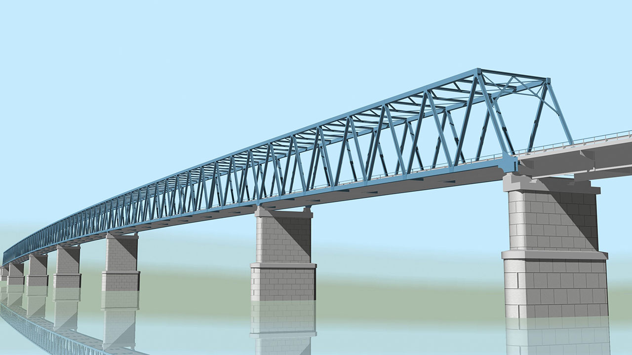 Заключен контракт на строительство самого северного моста через Енисей