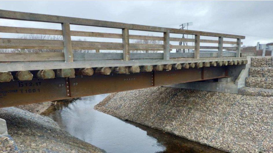 В Архангельской области открыли уникальный для России мост