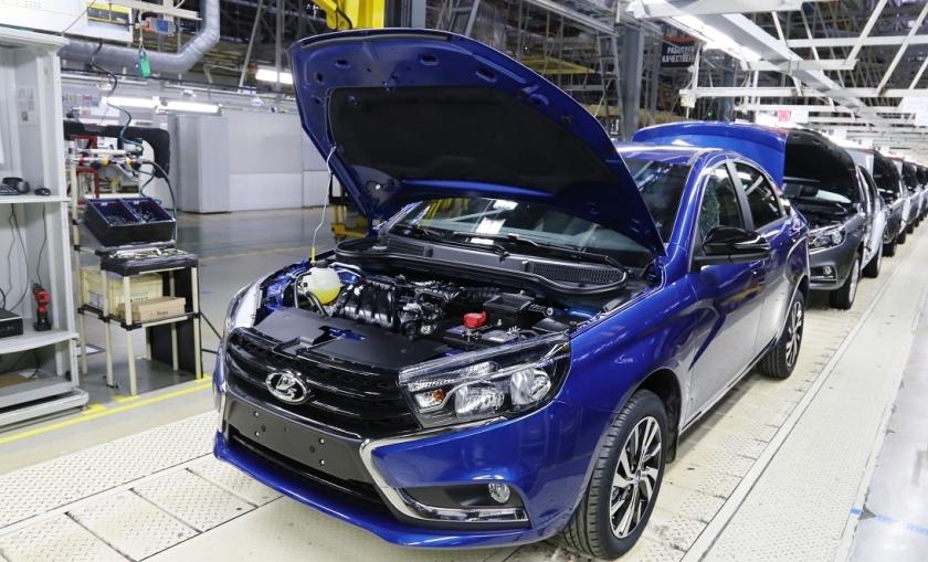 «Автоваз» снова приостановит производство автомобилей с 29 апреля