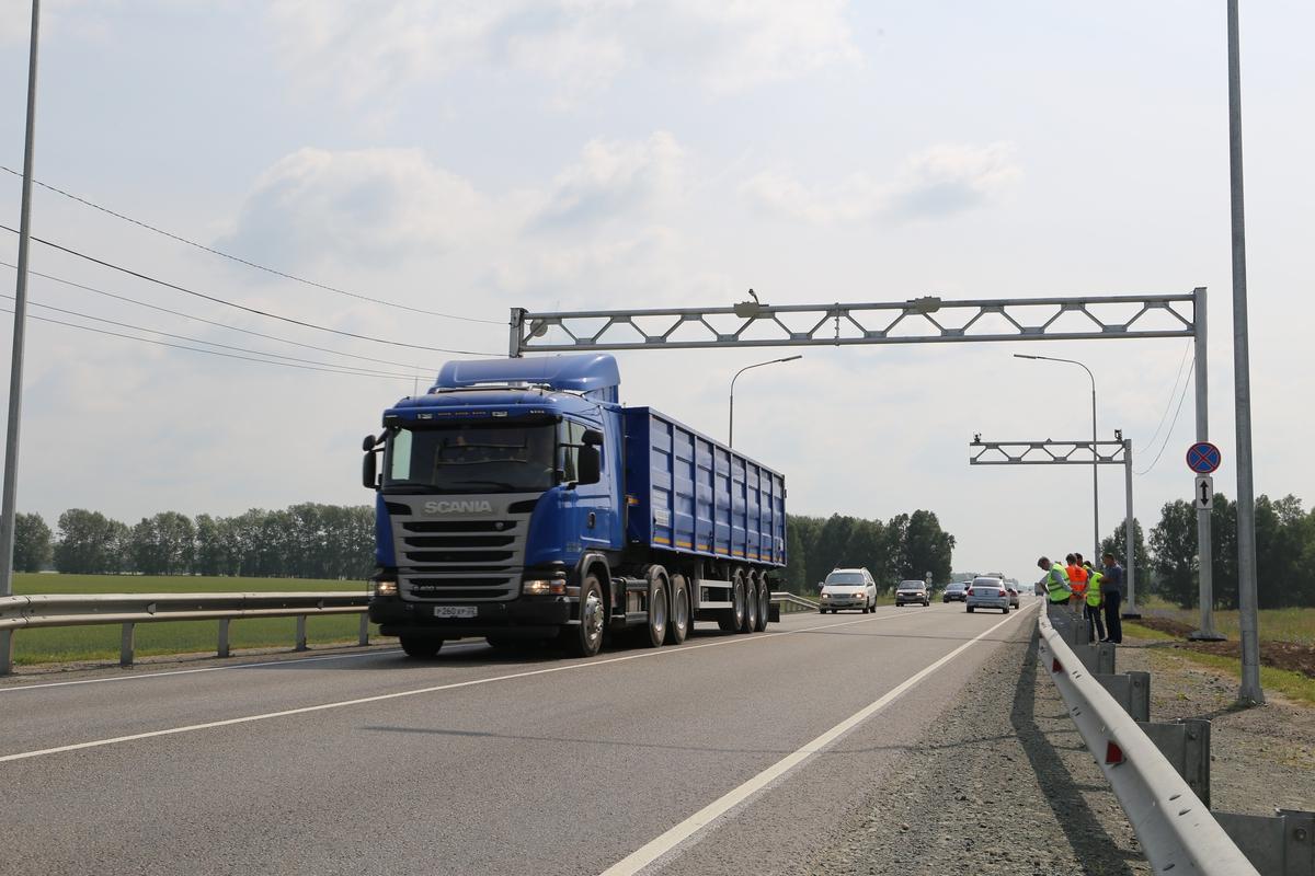Пункт весогабаритного контроля в Архангельской области начал полноценную работу