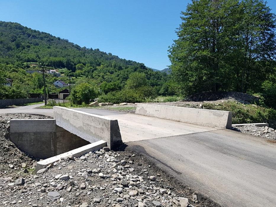 В Сочи восстановили два моста, смытые ливнем в 2018 году