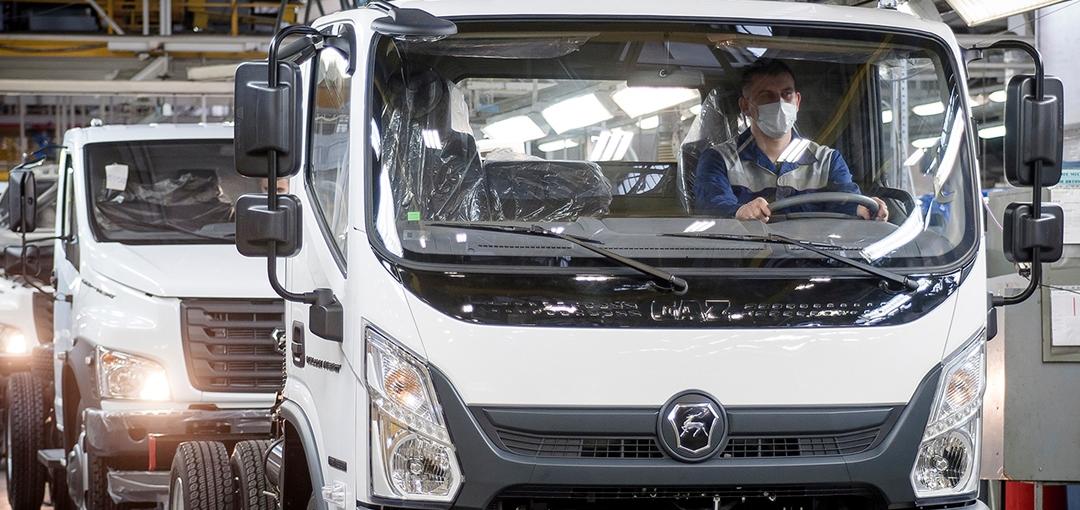 «ГАЗ» начал серийное производство бескапотного грузовика «Валдай Next»