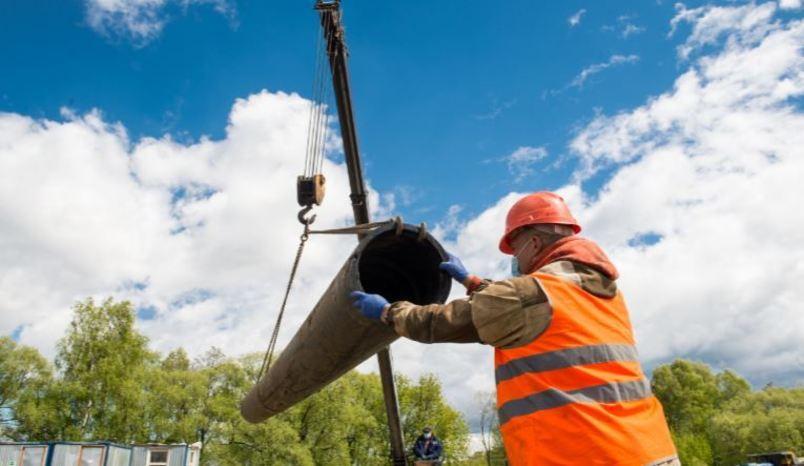 На обходе Балашихи и Ногинска в Московской области началась перекладка магистральных водопроводов