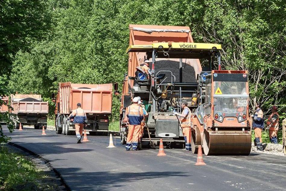 Тульская область выполнила план по ремонту региональных дорог