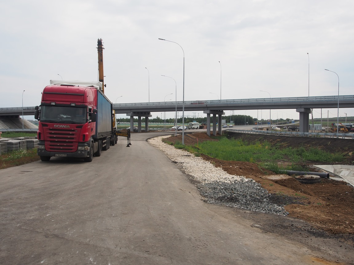 На восточном обходе Саранска в Мордовии открыли новую развязку