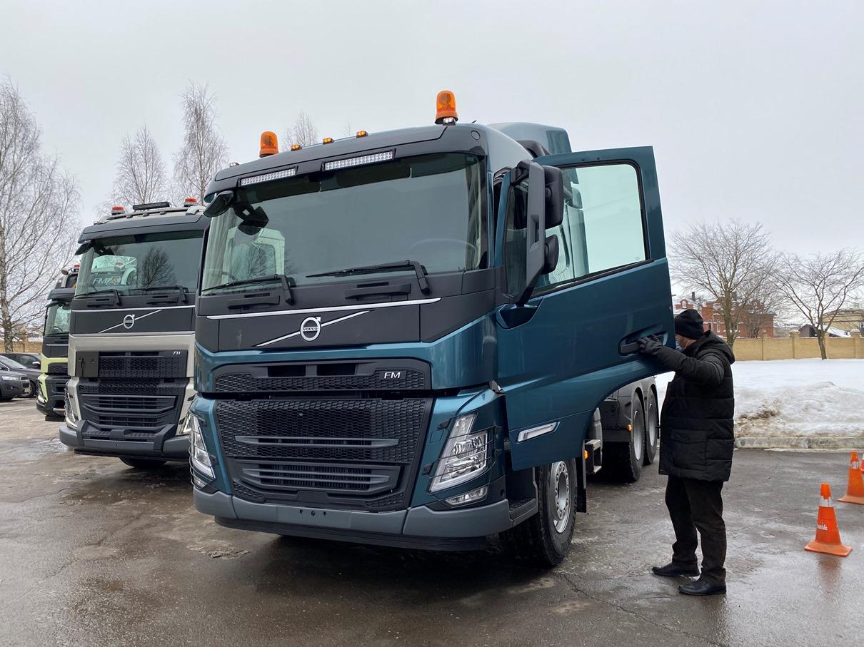 Продажи новых грузовых автомобилей в марте подскочили сразу на 45%