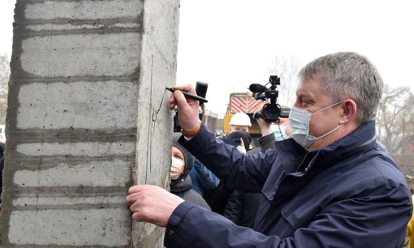В Брянске началось строительство моста через Десну