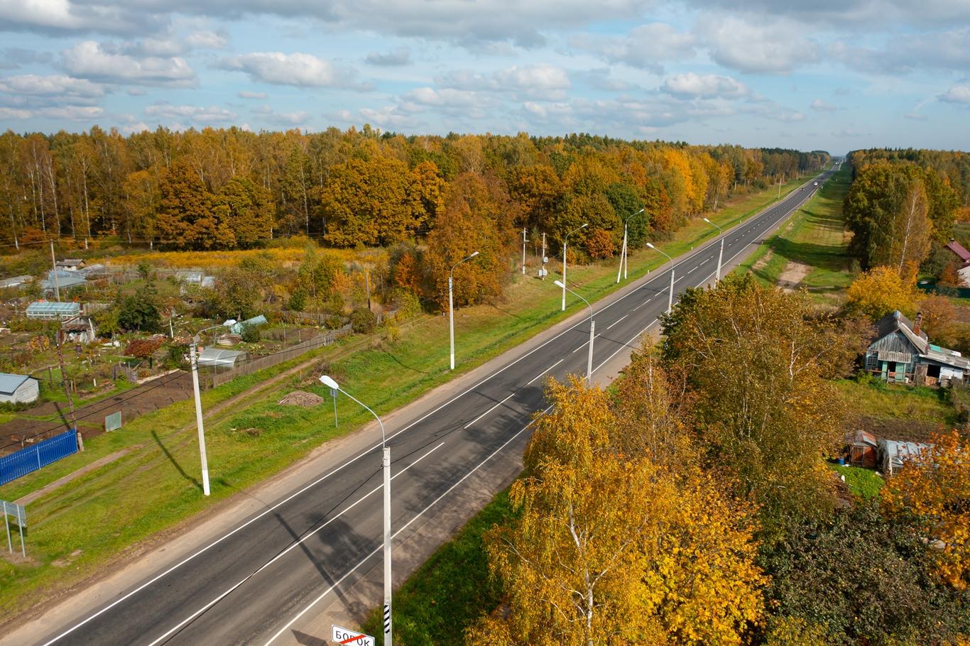 В Смоленской области отремонтировали 15 км трассы Р-120