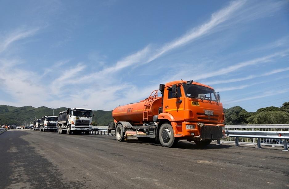 В Приморском крае открыли новый мост через Артемовку