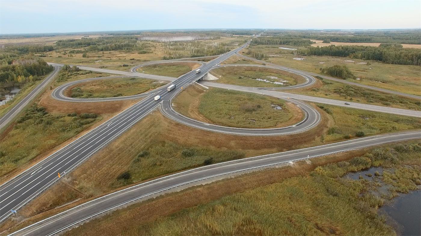 В Новосибирской области отремонтировали 46 км трассы Р-254 «Иртыш»
