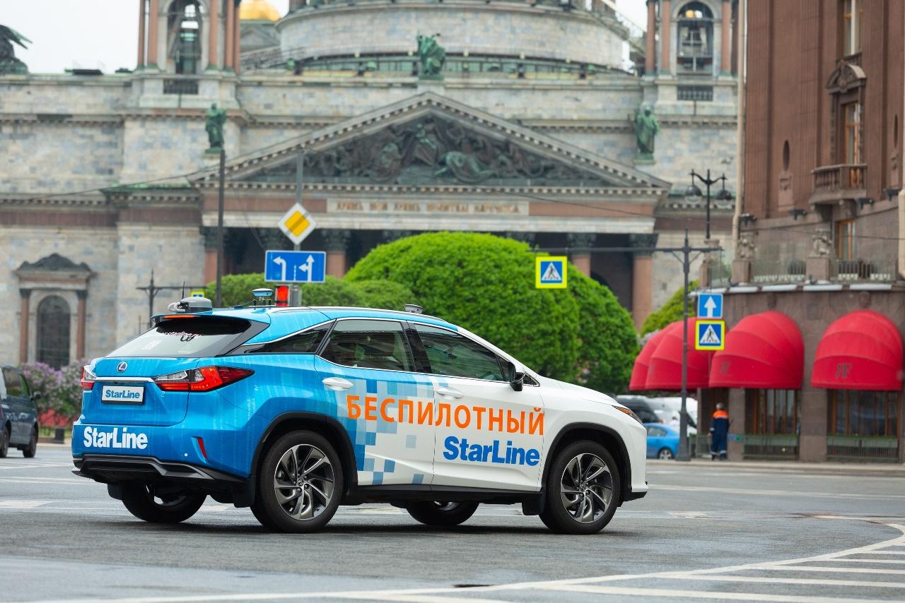 В Санкт-Петербурге протестировали беспилотное такси с новой технологией