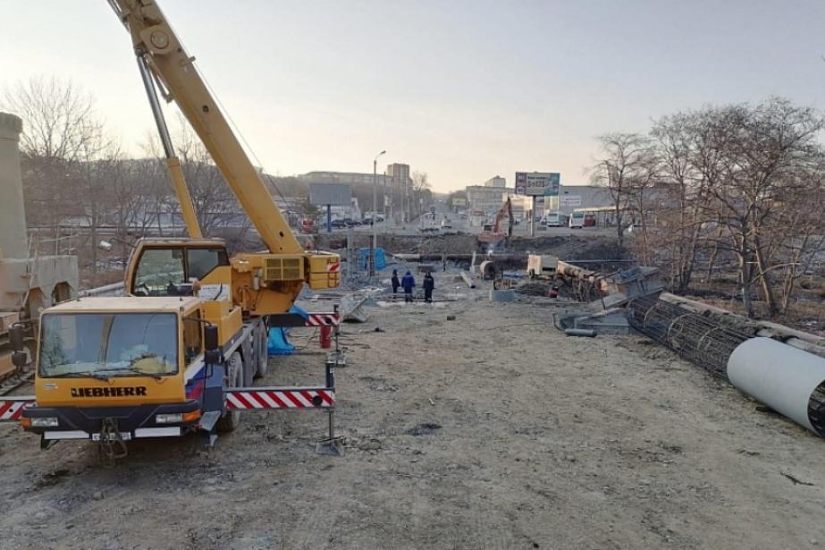 На трассе «Артем-Находка» приступили к возведению четырех новых мостов