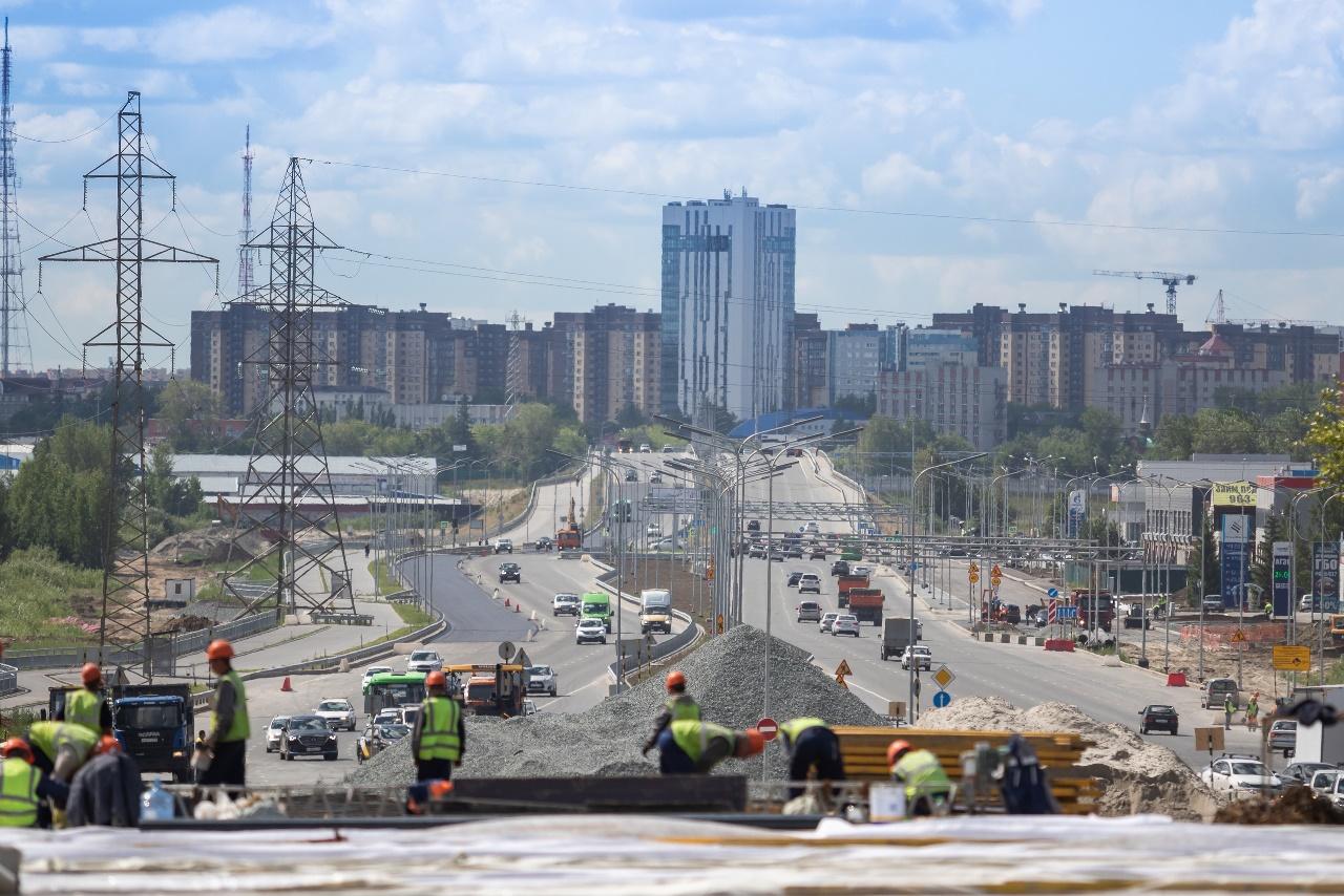 В Тюмени до конца 2022 года построят первую трехуровневую развязку