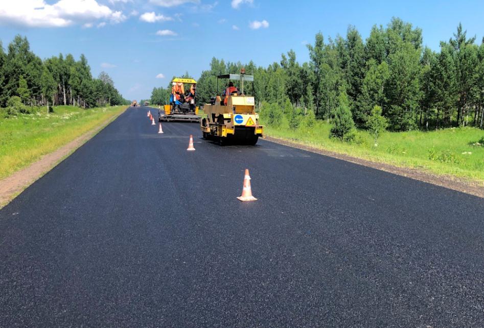 План по ремонту дорог в Сибири выполнен на 65%
