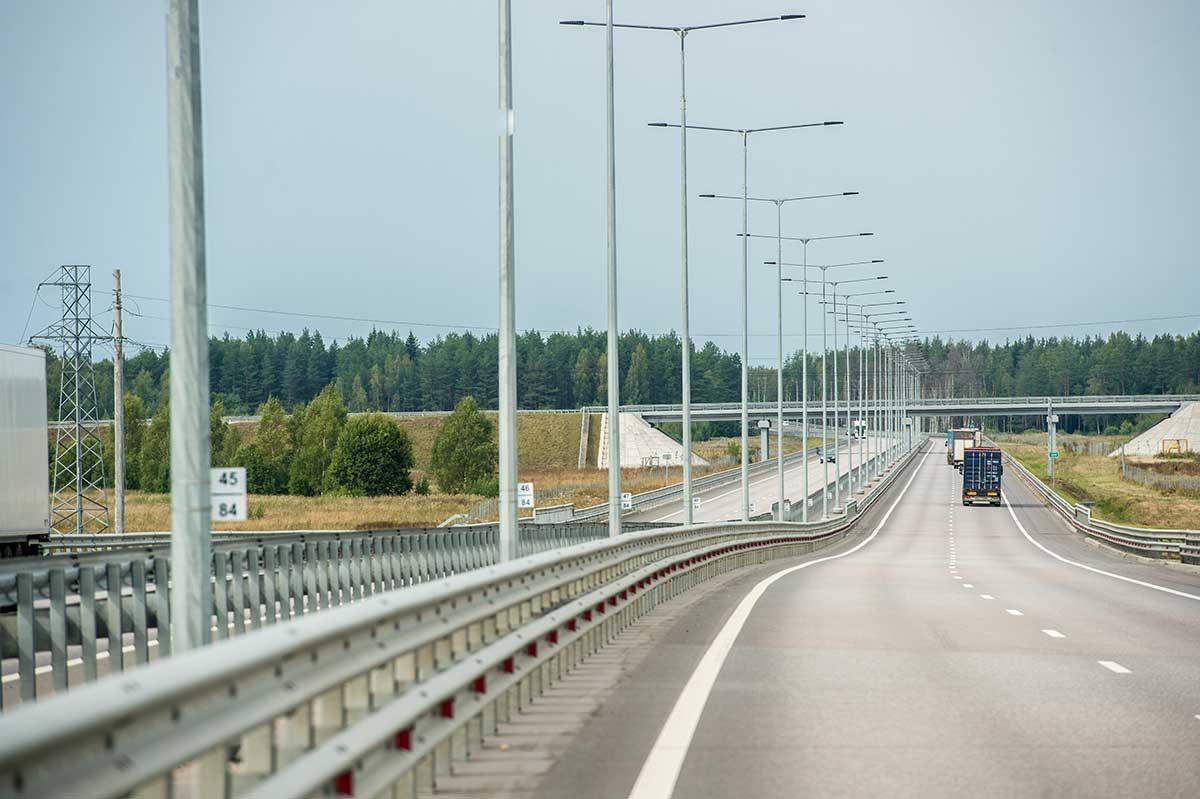 На ЦКАД возводят центральный пункт управления автодорогой