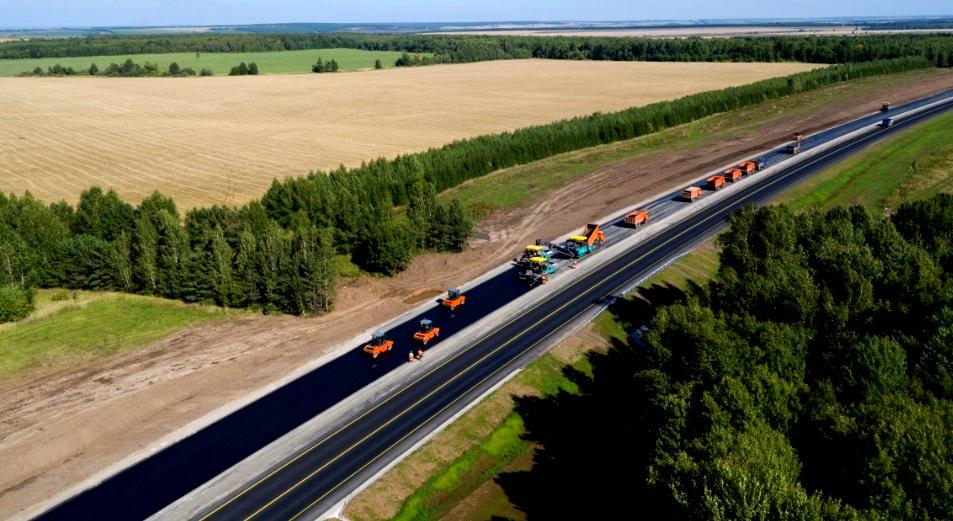 В Брянской области реконструируют 25 км трассы Р-120