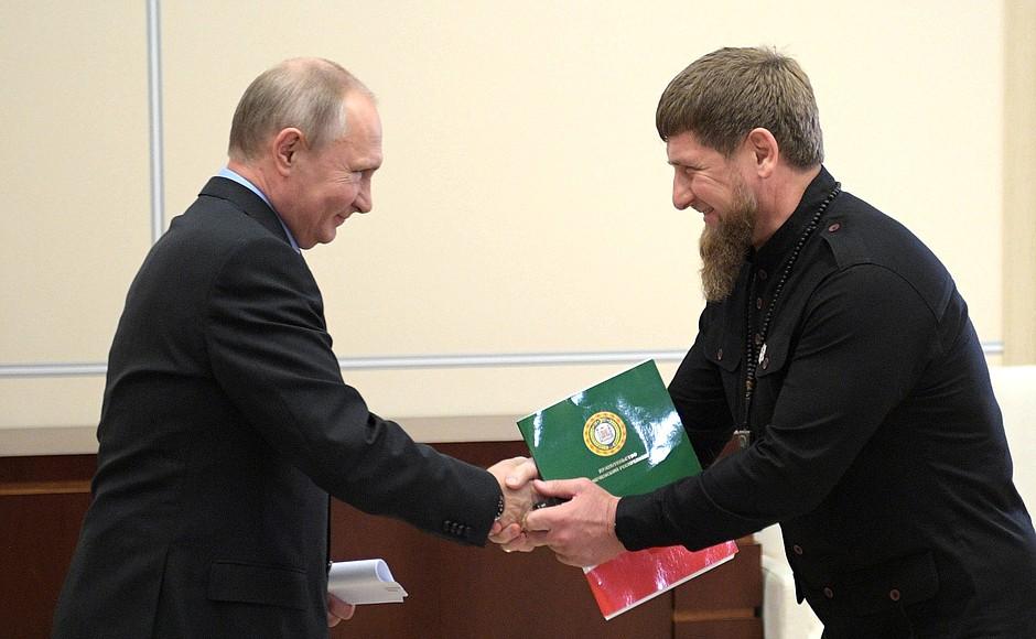Рамзан Кадыров предложил достроить дорогу из Чечни в Грузию