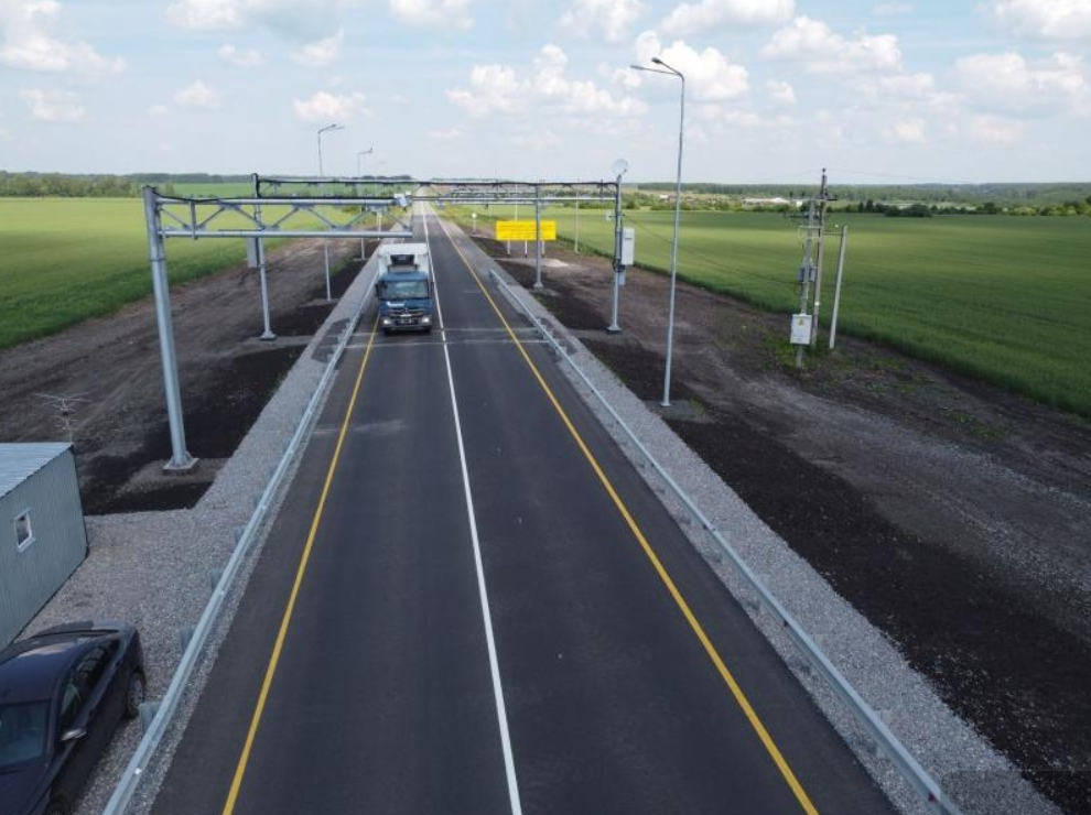 В Свердловской области построили 8 новых рамок весового контроля