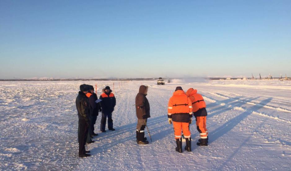 Ледовую переправу «Салехард-Лабытнанги» частично откроют 20 ноября