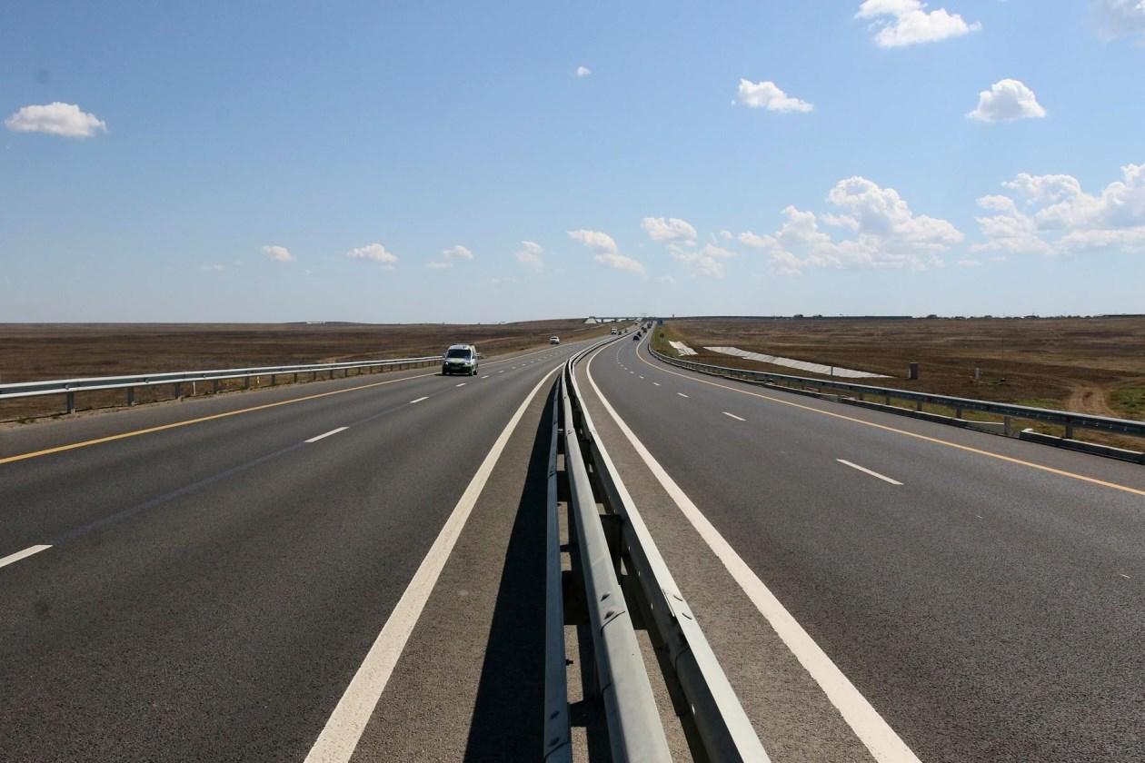 В 2021 году скоростной режим на трассе «Таврида» увеличат до 110 км/ч