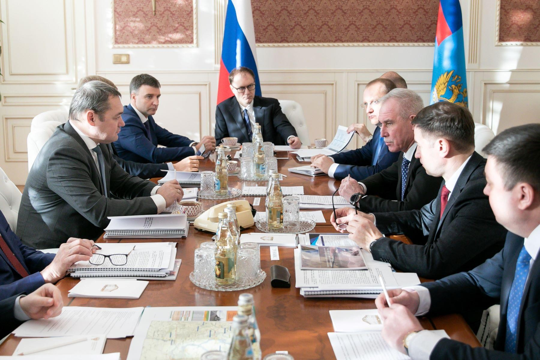 В Министерстве транспорта рассмотрели реализацию дорожных проектов Ульяновской области