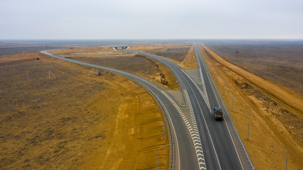 В 2020 году построили и реконструировали почти 240 км федеральных трасс