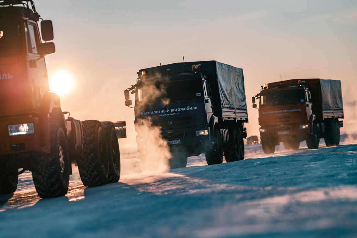 Беспилотные грузовики поедут по трассе М-11 в I квартале 2024 года