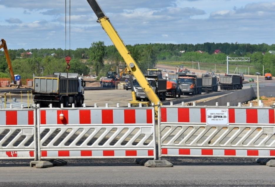Началось строительство моста на трассе М-3 «Украина» в Новой Москве