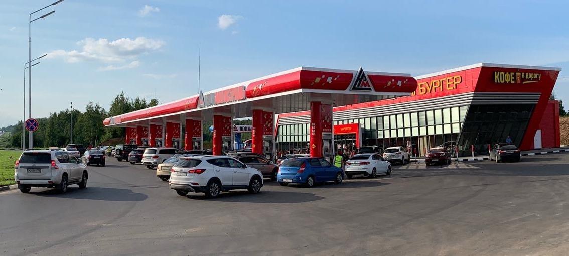 На трассе М-9 «Балтия» в Московской области открыта новая АЗС