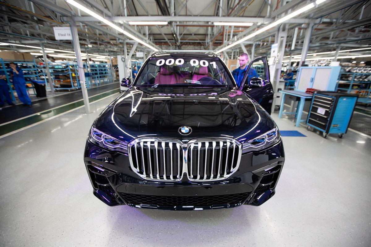 Летом 2021 года на «Автоторе» запустят полный цикл производства BMW