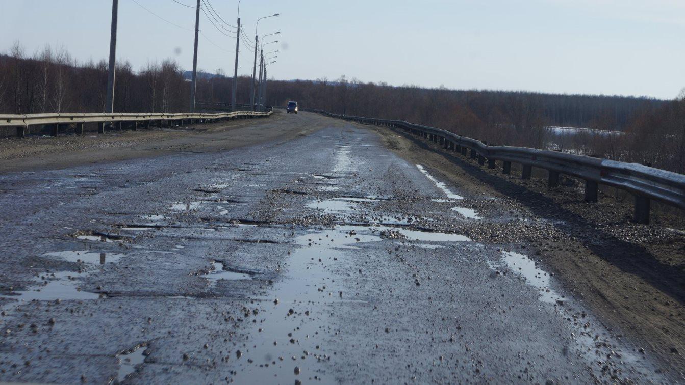 В Чувашской Республике «просушка» дорог начнется 25 марта