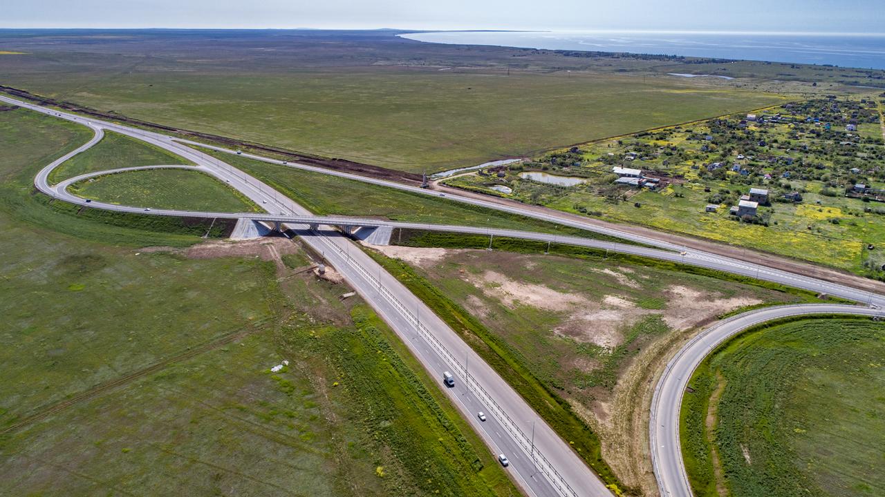 Трасса «Таврида» в Крыму будет открыта для движения в сентябре 2020 году