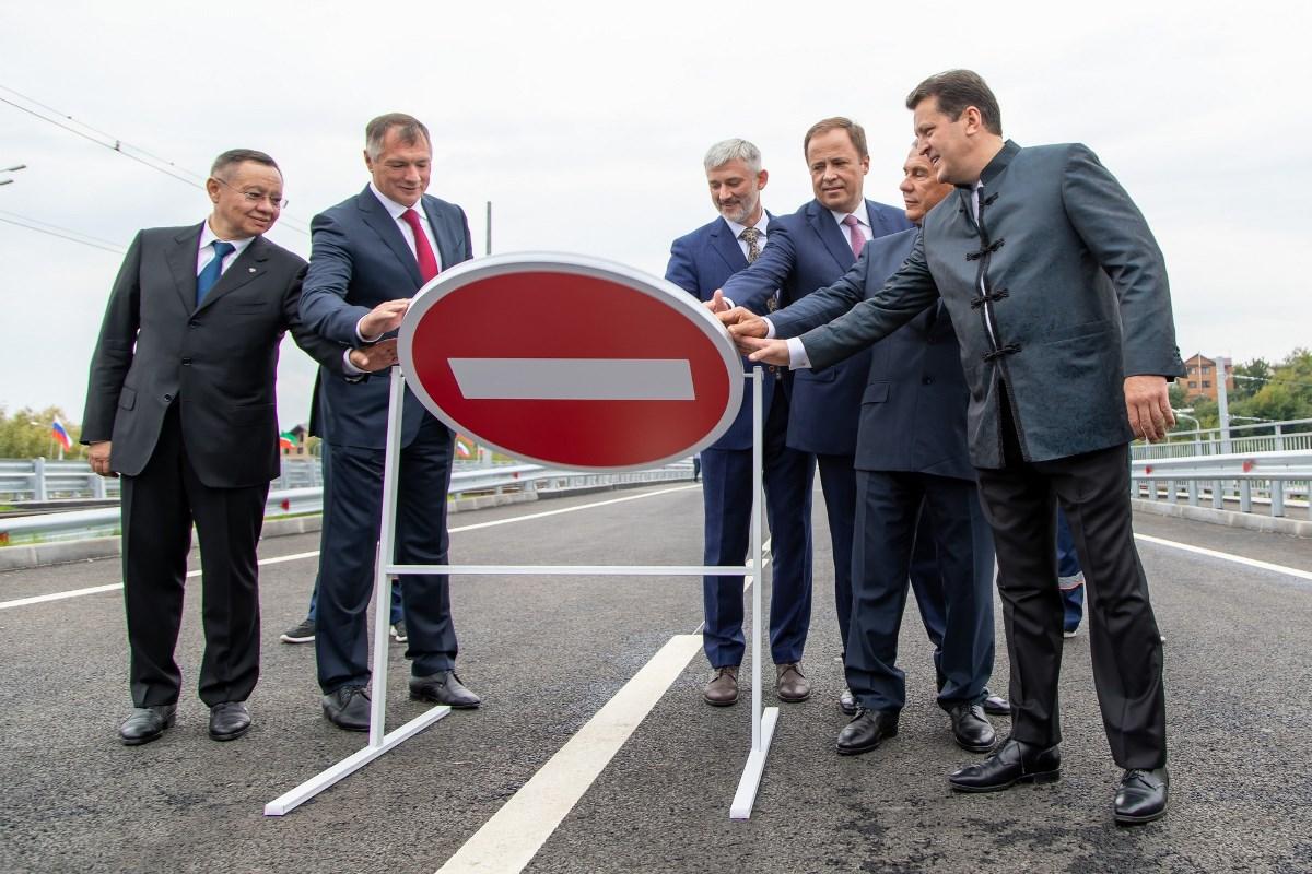 29 августа открыли движение по новому участку Большого казанского кольца