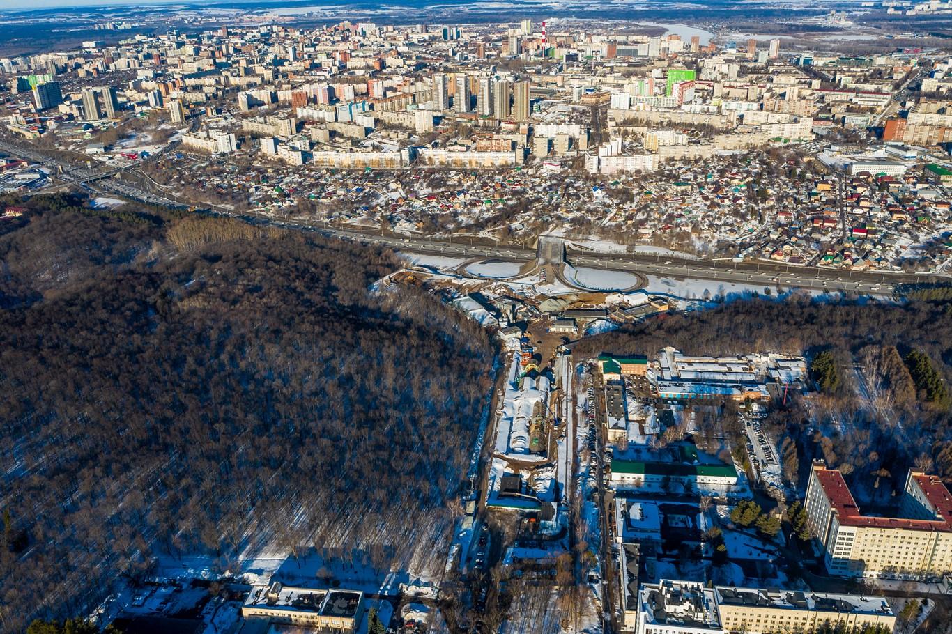 Стоимость проезда по тоннелю на выезде из Уфы не превысит 150 рублей
