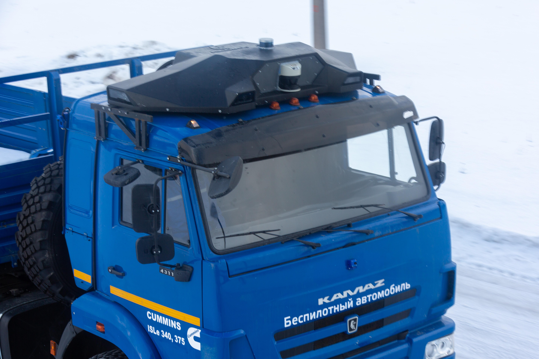 «КамАЗ» разработал модуль автономного управления автомобилем