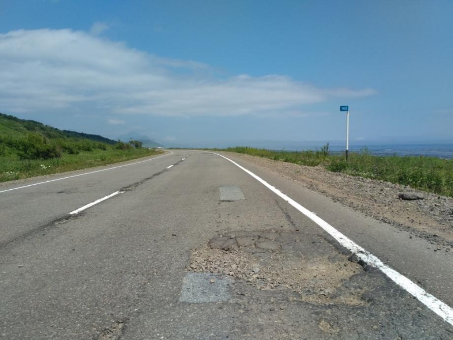 Дорога «Южно-Сахалинск-Оха» в Сахалинской области