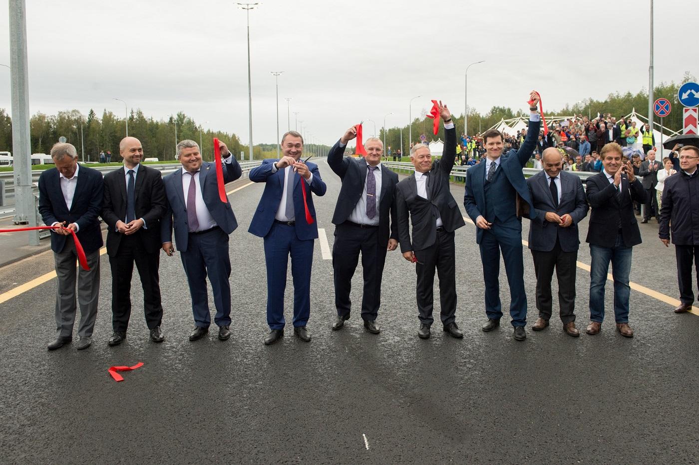 Седьмой участок трассы М-11 «Москва-Санкт-Петербург» наконец-то открылся!