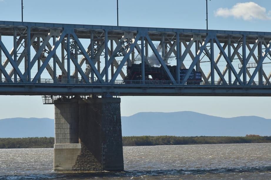 Второй мост через Амур у Комсомольска-на-Амуре будет железнодорожным