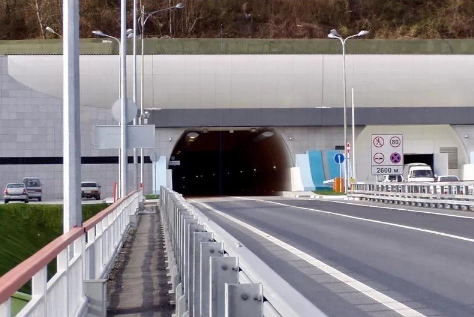 В Сочи на год закрыли «Мамайский» тоннель