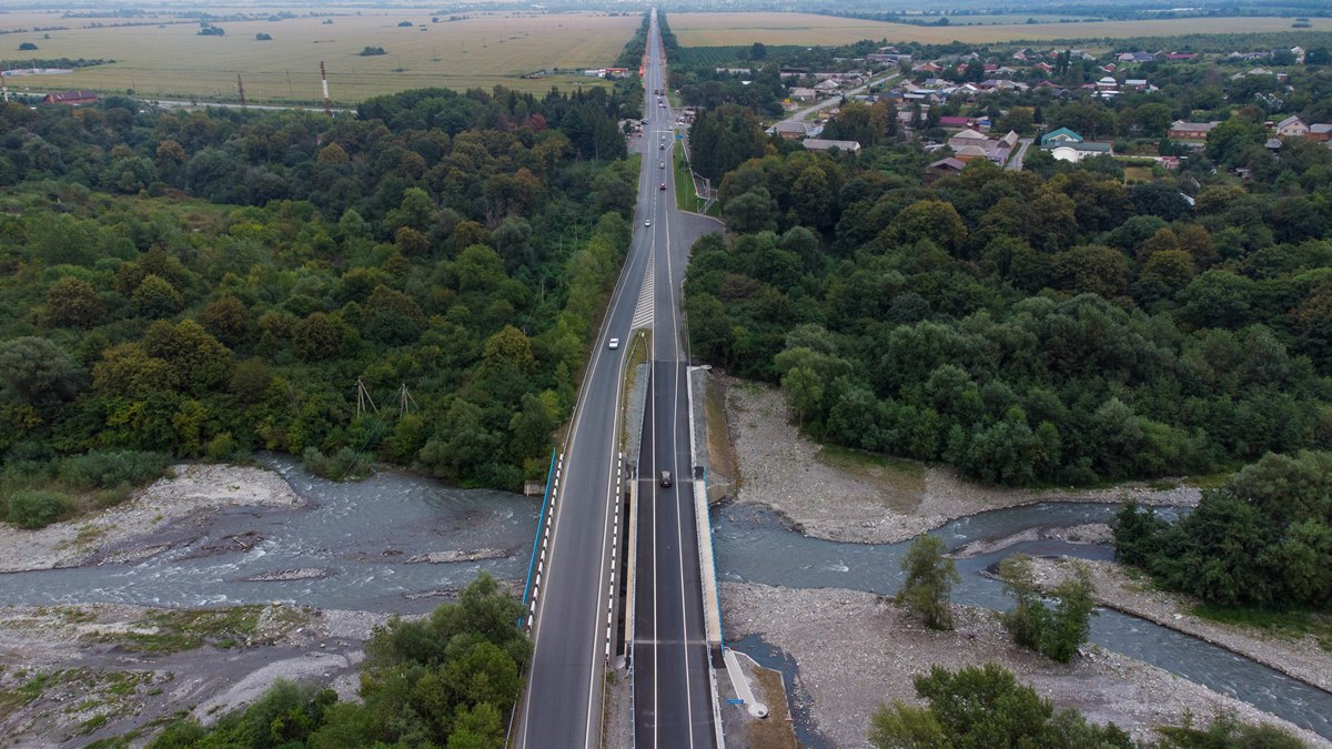 В Северной Осетии отремонтировали мост через реку Фиагдон